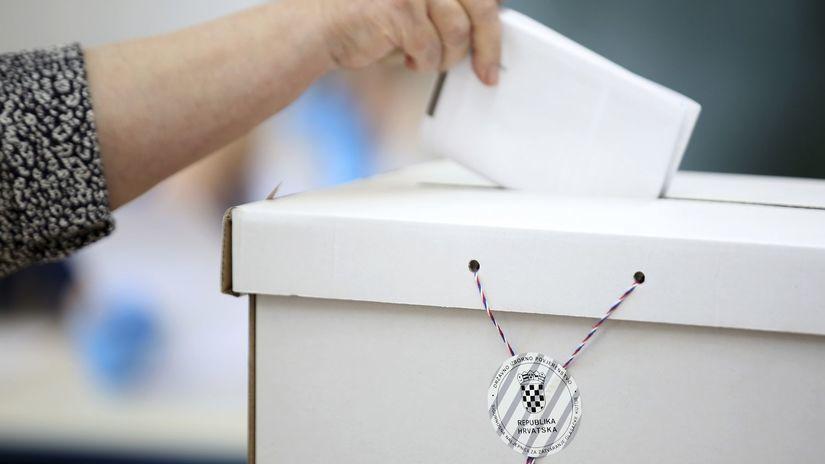 Chorvátsko Voľby Parlamentné