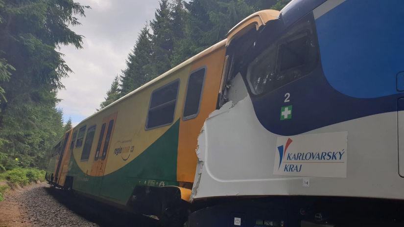 česko zrážka nehoda vlak
