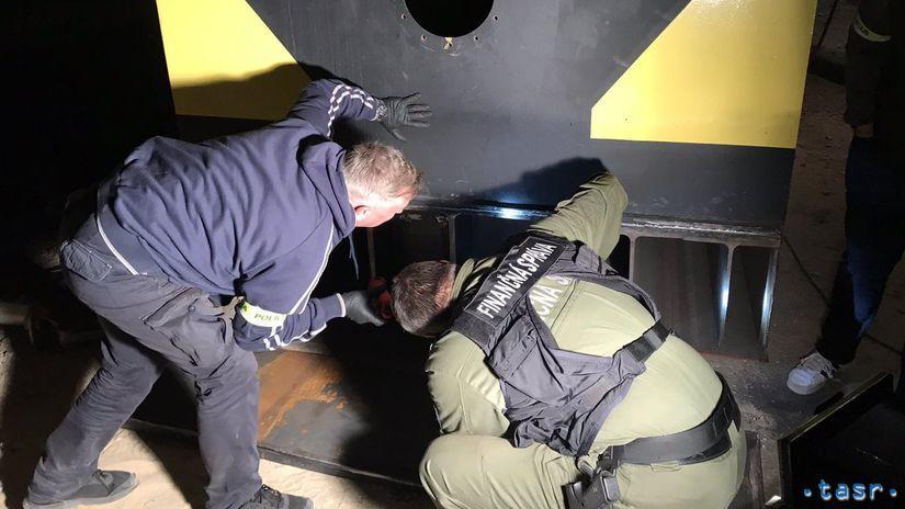 Colný úrad drogy záchyt polícia colnica