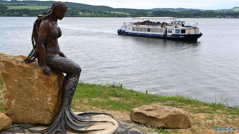 Kvakovce Domaša loď Bohemia spustenie