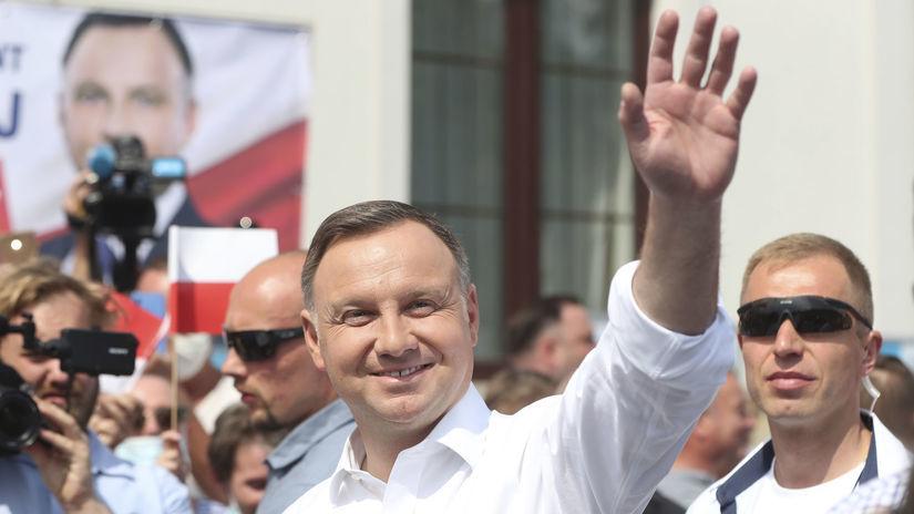 Poľsko voľby prezidentské prieskum 2. kolo