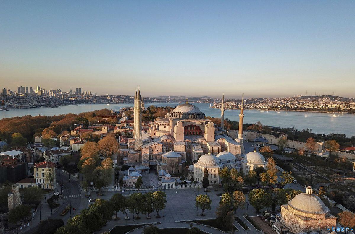 Turecko Hagia Sofia mešita istanbul