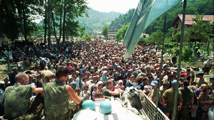 Holanďania, Srebrenica