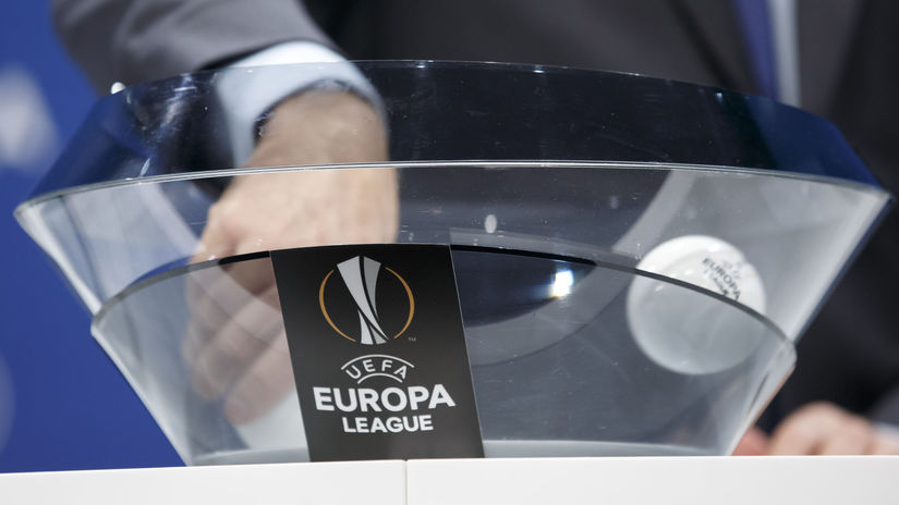 Ilustračná snímka, Európska liga, žreb