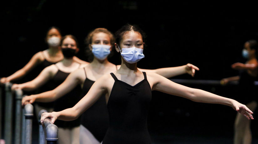 Virus Outbreak Florida Ballet Class