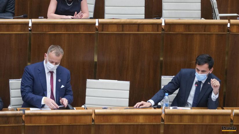 Boris Kollár (vľavo) a Juraj Šeliga