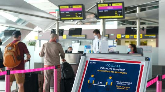 letisko, koronavírus
