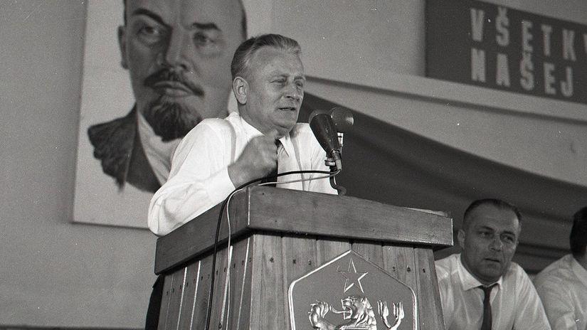 Antonín Novotný, Košice, ČSSR, návšteva