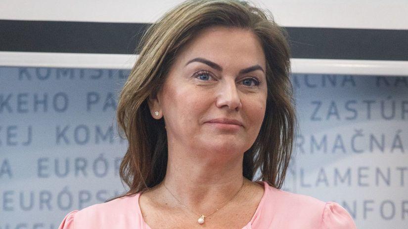 Monika Beňová na archívnom zábere.