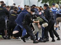 Bielorusko voľby prezidentské kampaň začiatok protesty