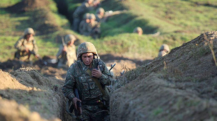 Arménsko Azerbajdžan pohraničie potýčky obete