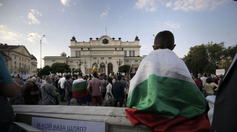 Bulharsko protesty ministri odvolanie Borisov...