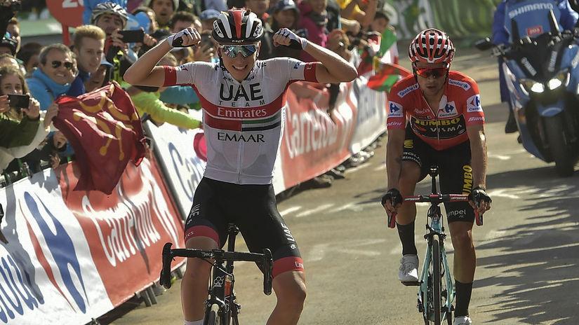 Španielsko Cyklistika Vuelta 13.etapa Pogačar