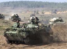 Bielorusko Rusko armáda cvičenie