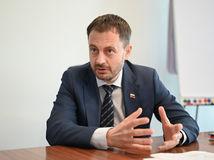 minister financií, eduard heger