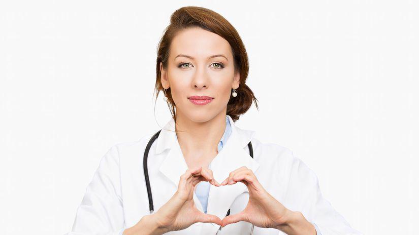 doktorka, srdce, lekárka