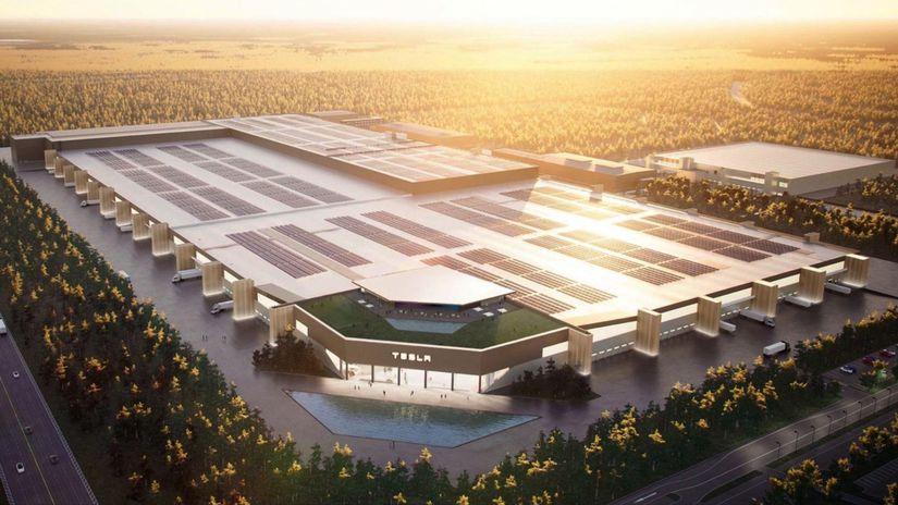 Tesla - Gigafactory Berlín