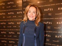 Vdova po Václavovi Havlovi, herečka Dagmar Havlová na premiére filmu Havel.