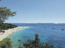 Chorvátsko, pláž