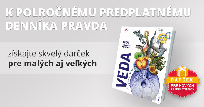 Polročné predplatné s encyklopédiou Veda v kocke