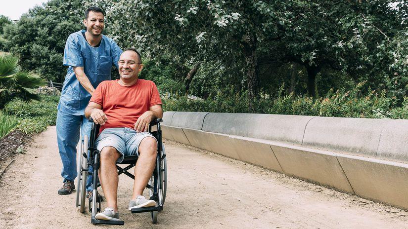 opatrovanie, osobná asistencia, invalidný...