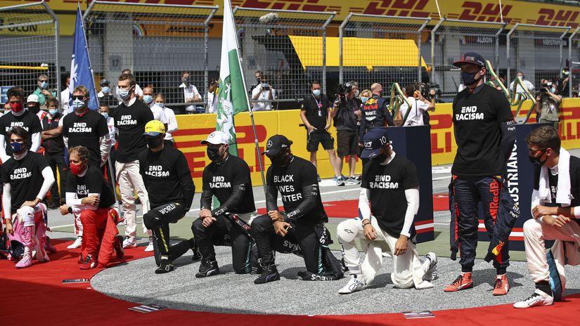 F1, pokľaknutie
