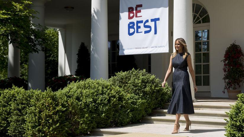Мелания Трамп Белый дом