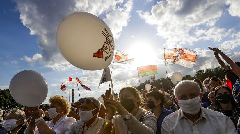 Bielorusko voľby prezidentské Cichanovská