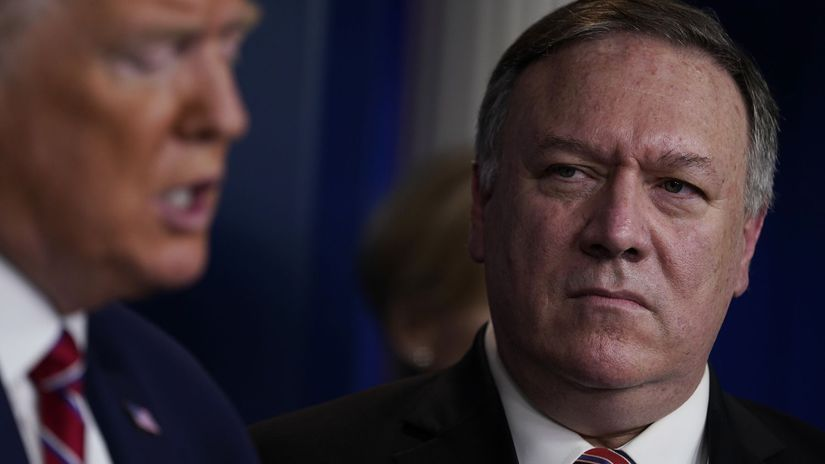Mike Pompeo / Donald Trump /