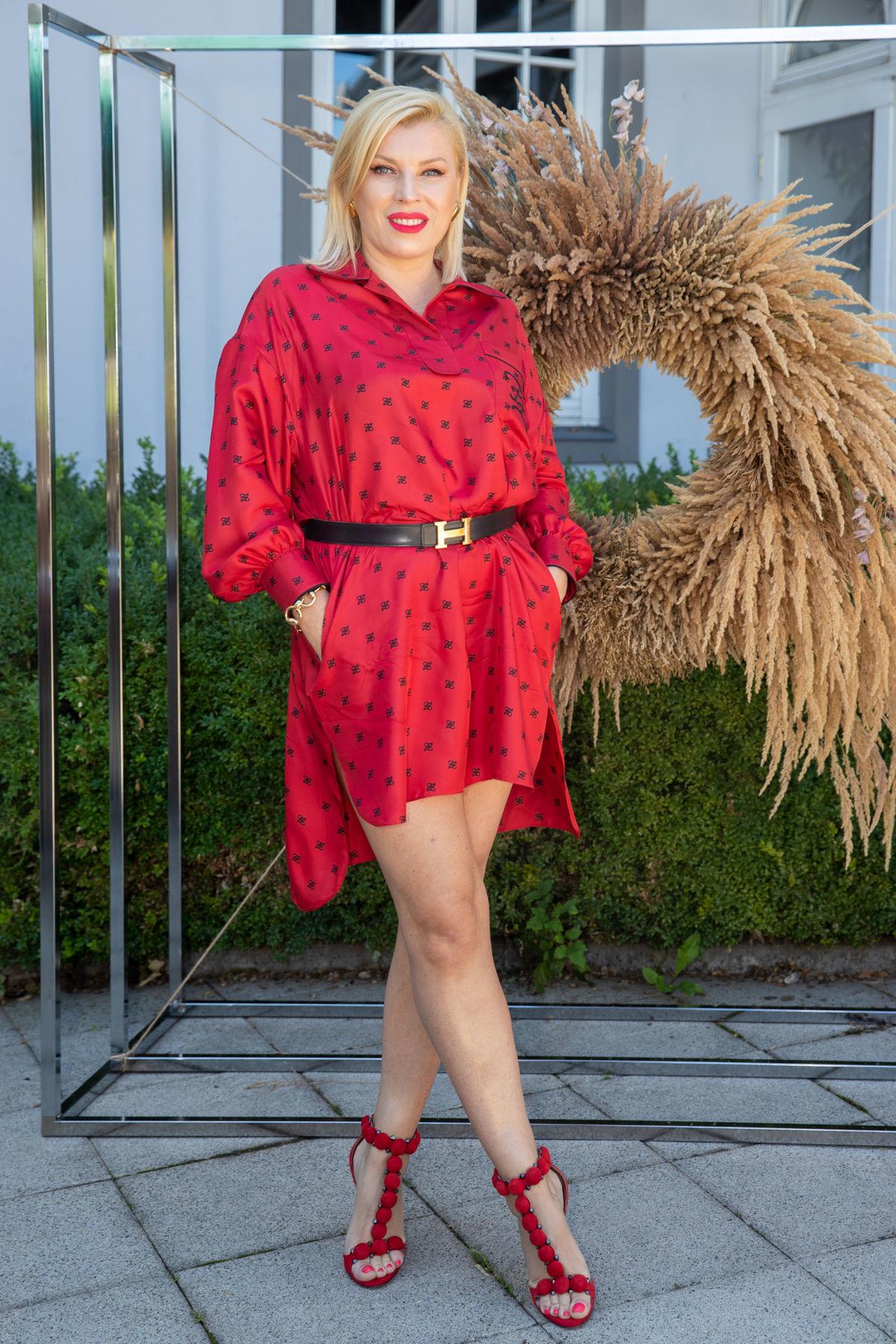 Riaditeľka módnej televízie Fashion TV Gabriela...
