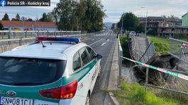 Spišská Nová Ves - zrútený most