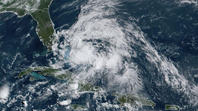 hurikán Isaias