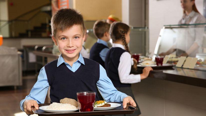 obedy zadarmo, chlapec