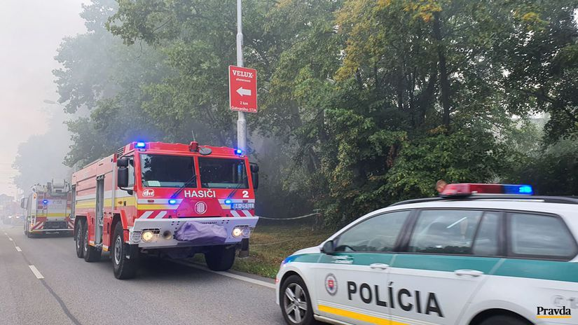 požiar hasiči bratislava