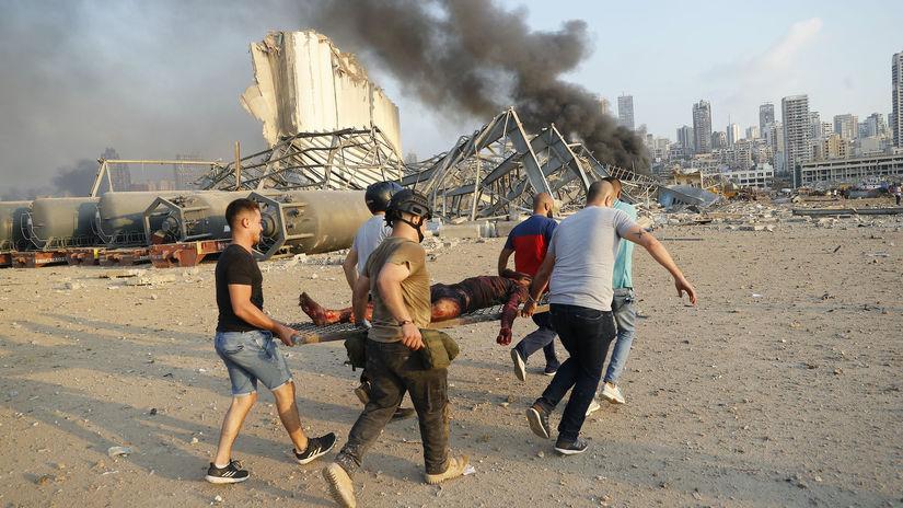 Libanon, explózia