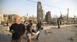 Libanon, výbuch