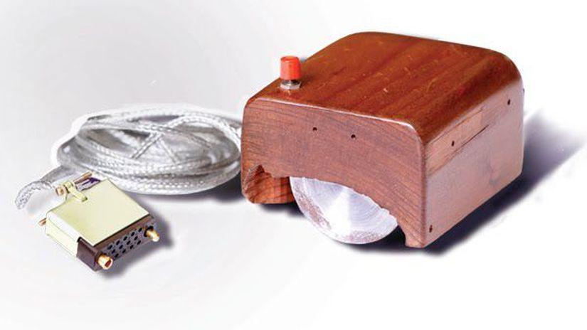 počítačová myš, William English