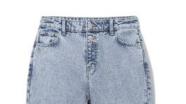 Dámske džínsy s vysokým pásom Reserved, predávajú sa za 24,99 eura.