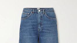 Široké dámske džínsy Toteme. Predávajú sa za 220 eur.