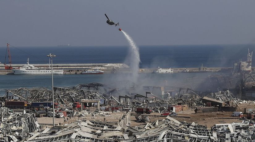 Libanon Bejrút výbuchy