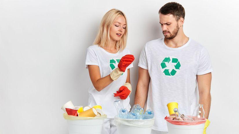 separovanie, vrecia, recyklácia