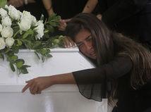 Libanon Bejrút Prístav Výbuchy Obeť Pohreb