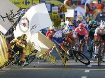 Poľsko Cyklistika Okolo Poľska záver pád