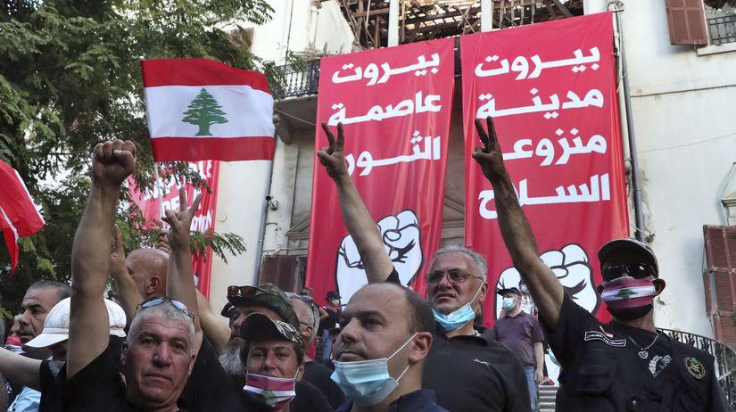 Libanon Bejrút protesty zranení ministerstvo