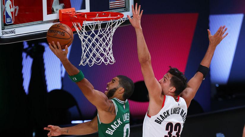 USA basketbal NBA Trail Blazers Celtics