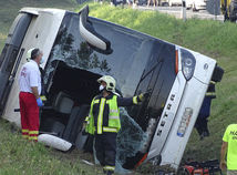 Hungary Bus Crash