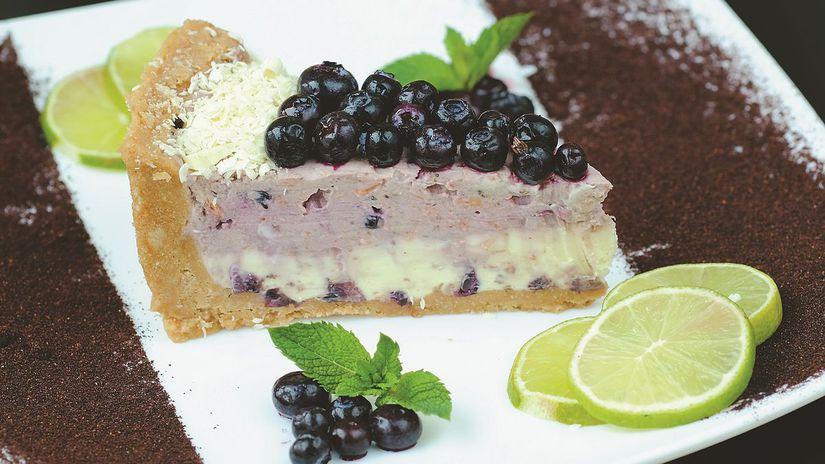 varecha, cheesecake, čučoriedky, kubaský,