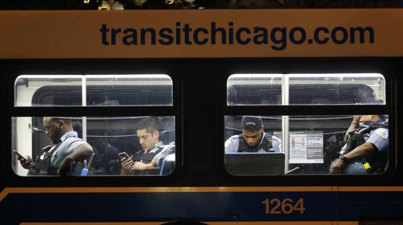 Chicago, nepokoje, polícia