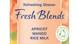 Sprchovací gél Nature Fresh Blends Apricot od Nivea s vôňou marhúľ, manga a výťažkom ryžového mlieka. Info o cene v predaji.