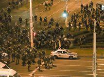 Bielorusko / demonštrácia / Minsk /